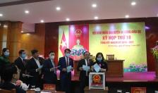 Ông Phạm Việt Hùng được bầu làm Chủ tịch UBND huyện An Dương