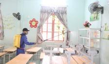 Các trường ngoại thành khẩn trương chuẩn bị đón học sinh đến trường