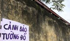Quận Hồng Bàng: Đã triển khai phá dỡ bức tường xuống cấp tại Trường THCS Hùng Vương