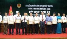 Huyện Thủy Nguyên tăng trưởng bình quân hơn 15% trong 5 năm 2016-2021