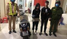 Đội CSGT-TT Công an quận Hồng Bàng xử lý nghiêm đối tượng lạng lách, đánh võng