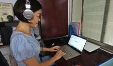Các giáo viên, học sinh khai báo y tế  online hàng ngày bắt đầu từ ngày 2-6