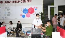 Gần 600 công nhân của Công ty LG Display Việt Nam Hải Phòng được cấp CCCD có gắn chíp