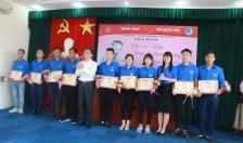Huyện đoàn Tiên Lãng: Kết nạp 1.467 đoàn viên mới