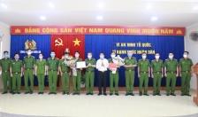 CATP khen thưởng CAQ Kiến An lập công xuất sắc trong đấu tranh phòng, chống tội phạm