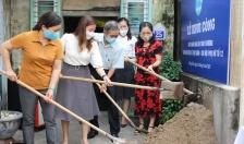 Khởi công xây nhà 'mái ấm tình thương' cho phụ nữ có hoàn cảnh khó khăn