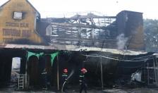 Hỗ trợ tiểu thương bị thiệt hại sau vụ cháy chợ Núi Đèo (Thủy Nguyên)