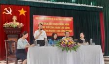 Quận Hải An: Đối thoại chính sách hỗ trợ nữ công nhân lao động