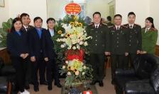 CATP chúc mừng Thành đoàn Hải Phòng