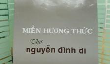 Lưu luyến thơ Nguyễn Đình Di
