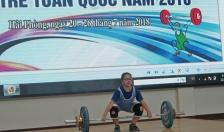 Khai mạc Giải vô địch cử tạ trẻ toàn quốc năm 2018
