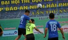 Giải bóng đá Đại hội TDTT thành phố lần thứ VIII, Cúp Báo An ninh Hải Phòng – Nhựa Tiền Phong lần thứ 16: Nhiều bàn thắng đẹp, hấp dẫn