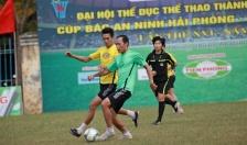 Giải bóng đá Đại hội TDTT thành phố lần thứ VIII, Cúp Báo An ninh Hải Phòng – Nhựa Tiền Phong lần thứ 16: Tám đội bóng xuất sắc nhất vào tứ kết