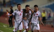 Giải bóng đá giao hữu Quốc tế Cup Vinaphone 2018:  Olympic Việt Nam vô địch sớm