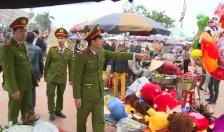 Công an tỉnh Thái Bình: Tăng cường công tác đảm bảo an ninh trật tự tại lễ hội đền Trần