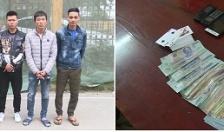 CAH Quỳnh Phụ (Thái Bình) triệt phá sới bạc, bắt giữ 6 đối tượng