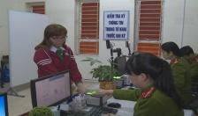 Những ngày đầu năm mới tại bộ phận tiếp dân Công an tỉnh Thái Bình