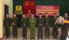 Công an tỉnh Thái Bình: Khai giảng lớp huấn luyện chiến sỹ nghĩa vụ năm 2018