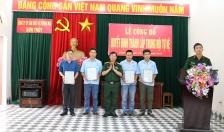 Công bố quyết định thành lập Trung đội tự vệ Công ty CP SX&TM Sơn Thủy