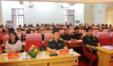 Đảng ủy- Bộ CHQS thành phố học tập, quán triệt Nghị quyết Trung ương 7(khóa XII)