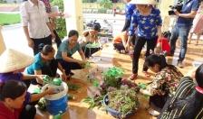 Hội LHPN huyện Cát Hải: Nói không với túi ni lông, sản phẩm nhựa dùng một lần