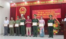 Huyện Kiến Thụy: Phát huy vai trò nòng cốt bộ đội biên phòng trong bảo vệ chủ quyền an ninh biên giới biển