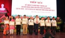 Huyện Kiến Thụy kỷ niệm 75 năm Ngày thành lập Chi bộ Đảng đầu tiên