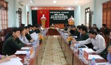 Uỷ Ban Kiểm Tra Đảng ủy Quân sự TP: Sơ kết thực hiện quy chế phối hợp công tác kiểm tra, giám sát