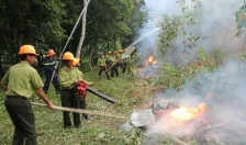 Thực tập phương án chữa cháy tại Vườn Quốc gia Cát Bà