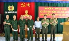 CLB An ninh-Cựu chiến binh huyện Kiến Thụy cung cấp hơn 200 thông tin ANTT