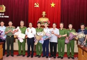 Thành ủy, UBND thành phố khen thưởng thành tích xuất sắc của CATP