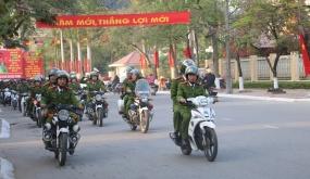 CAQ Đồ Sơn: Ra quân đảm bảo ANTT, TTATGT dịp Tết Kỷ Hợi 2019