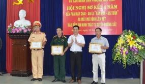 """Sơ kết 4 năm mô hình Bến phà Máy Chai - An Lư """"Văn hóa - An toàn"""""""