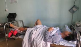 Tin ban đầu về vụ việc gây mất ANTT tại khu vực đường bờ mương  An Kim Hải, phường Kênh Dương, quận Lê Chân ngày 18-1.