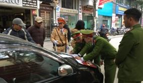 Công an quận Hồng Bàng: Xử phạt hành chính 111 trường hợp vi phạm TTATGT