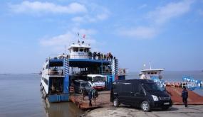 Từ ngày 20-6: Hạn chế xe du lịch 29 chỗ lưu thông qua phà Gót - Cái Viềng