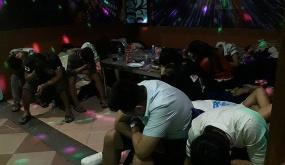 """Công an quận Lê Chân: Đột kích quán Karaoke Zone 9, phát hiện hàng chục dân chơi """"đá"""""""