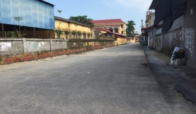 Thị trấn Tiên Lãng (Tiên Lãng):  Đưa vào sử dụng 4 tuyến đường khu dân cư