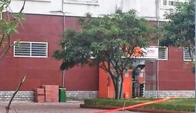 Quảng Ninh: Phát hiện 10 thỏi nghi thuốc nổ trong cây ATM tại TP Uông Bí