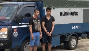 Cuộc truy lùng nhóm trộm di động trên xe tải