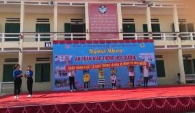CAH Vĩnh Bảo: Tuyên truyền Luật an toàn giao thông tới các trường THPT trên địa bàn huyện