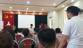"""Trường ĐH Đông Đô đối thoại học viên Hải Phòng: Học sinh """"đòi"""" bằng, trường kêu… """"đang rà soát"""""""