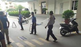 Thông tin ban đầu về người đàn ông tử vong  tại Trung tâm thương mại TD Plaza, đường Lê Hồng Phong
