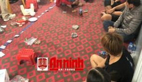 Phá ổ bạc tại xã An Hồng, huyện An Dương