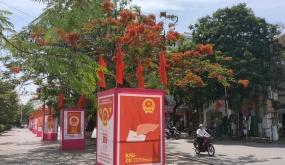 Hải Phòng rực rỡ cờ hoa hướng tới ngày bầu cử