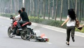 Công an huyện Kiến Thụy khuyến cáo biện pháp chống cướp giật trên đường