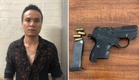 Công an quận Hồng Bàng: Bắt giữ đối tượng nổ súng tại số 4, Phạm Bá Trực (Hồng Bàng)  ngày 21-9-2021