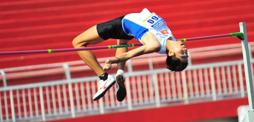 Giải điền kinh Cúp tốc độ Thống Nhất (TP Hồ Chí Minh): Vũ Đức Anh giành 1 huy chương vàng
