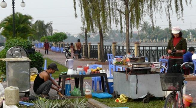 Siết chặt quản lý trật tự công cộng khu vực hồ An Biên và tuyến đường Lạch Tray: Kỳ 1 - Tụ điểm vi phạm trật tự đường hè