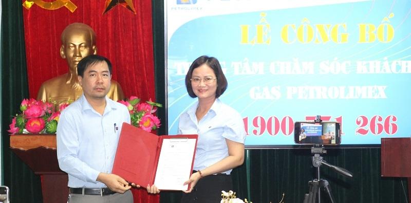 Công ty Gas Petrolimex Hải Phòng:  Công bố Trung tâm chăm sóc khách hàng